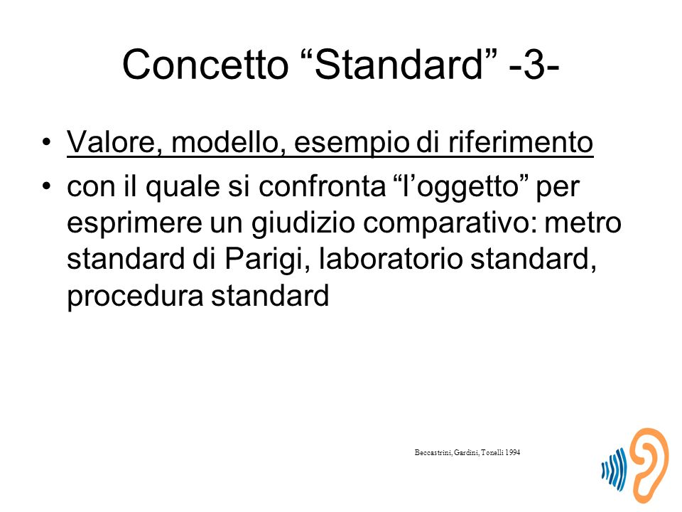 Concetto Standard -3-