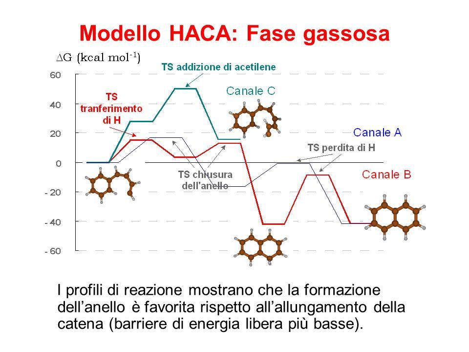 Modello HACA: Fase gassosa