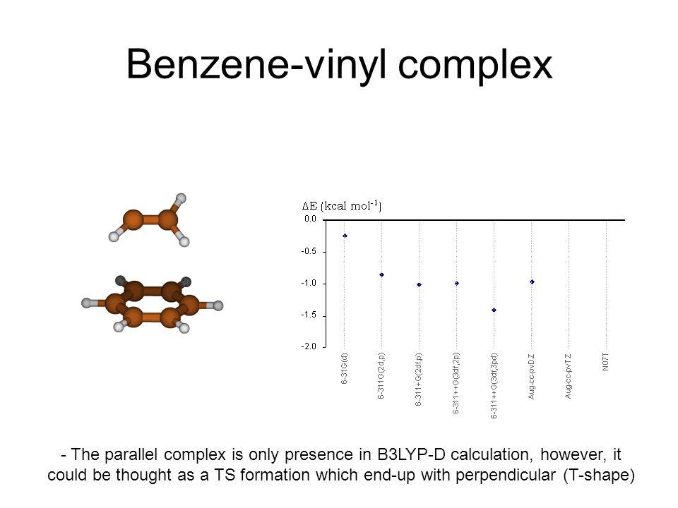 Benzene-vinyl complex