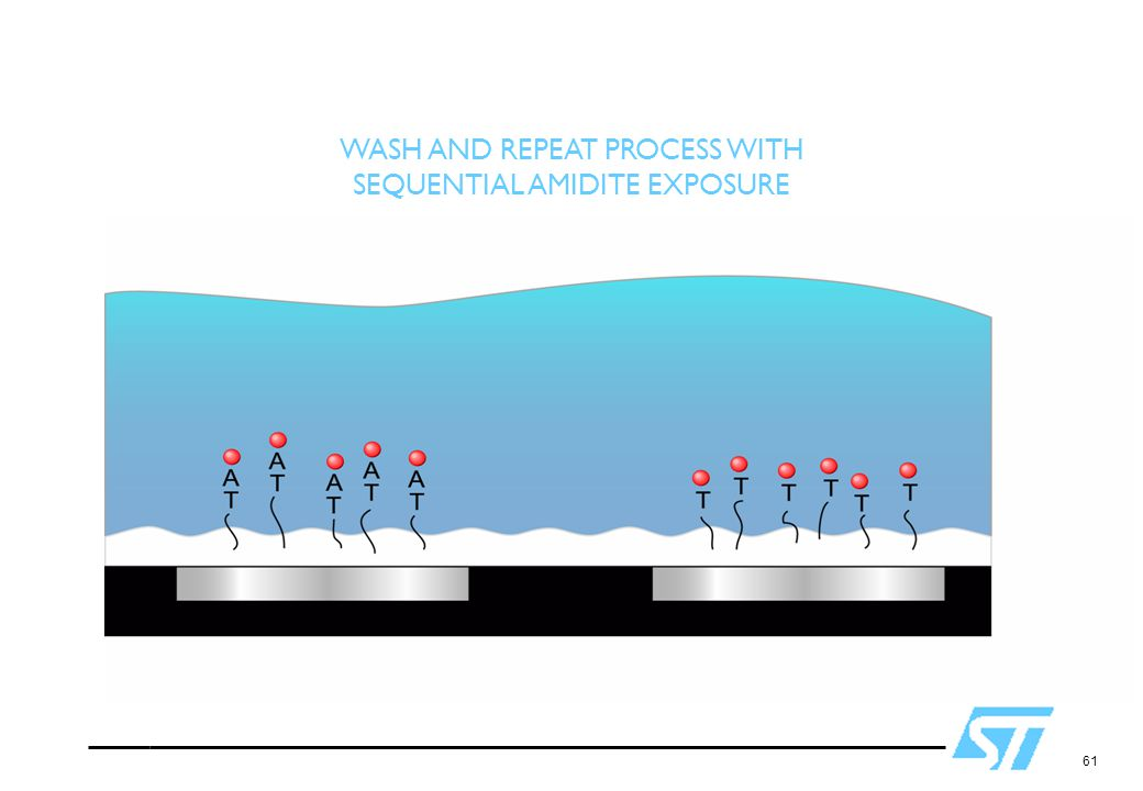 WASH AND REPEAT PROCESS WITH SEQUENTIAL AMIDITE EXPOSURE