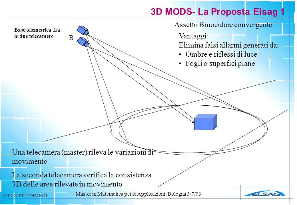 3D MODS- La Proposta Elsag 1