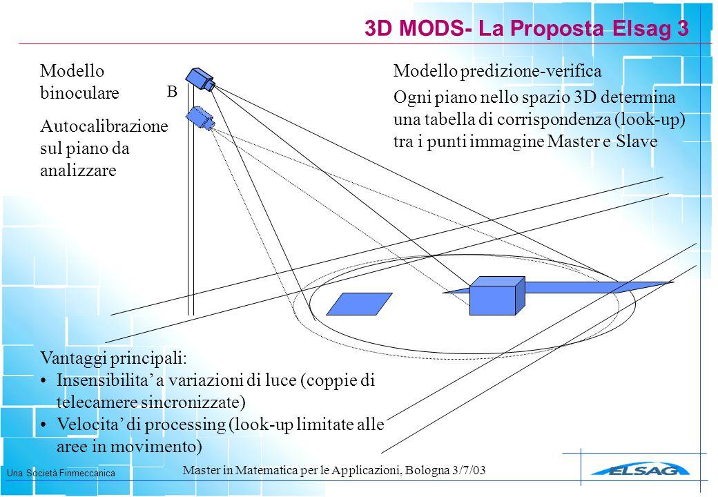 3D MODS- La Proposta Elsag 3