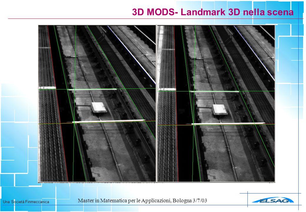 3D MODS- Landmark 3D nella scena