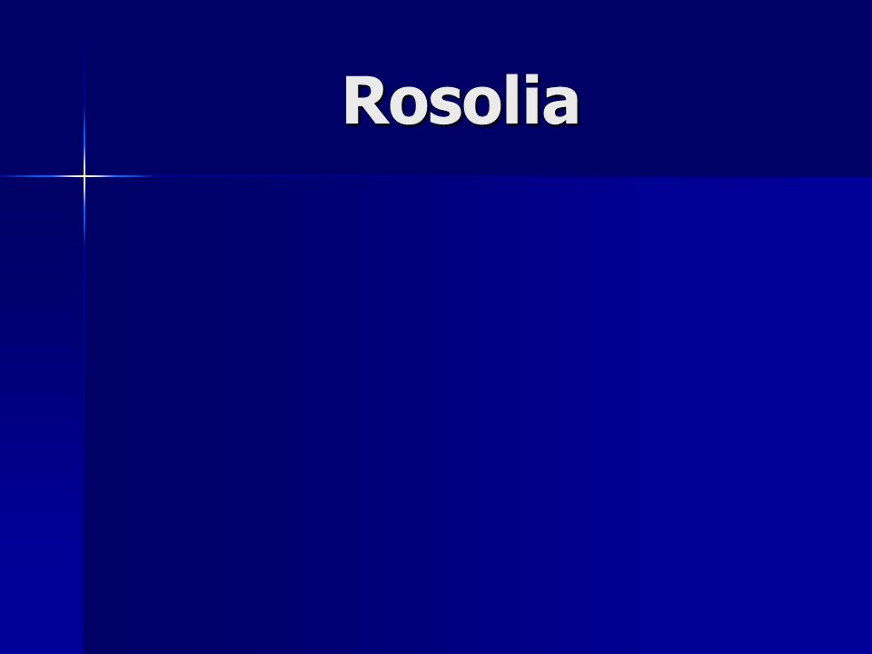 Rosolia