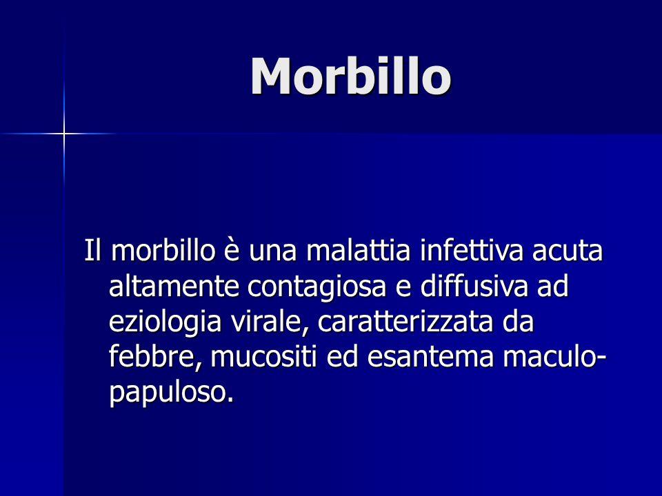Morbillo