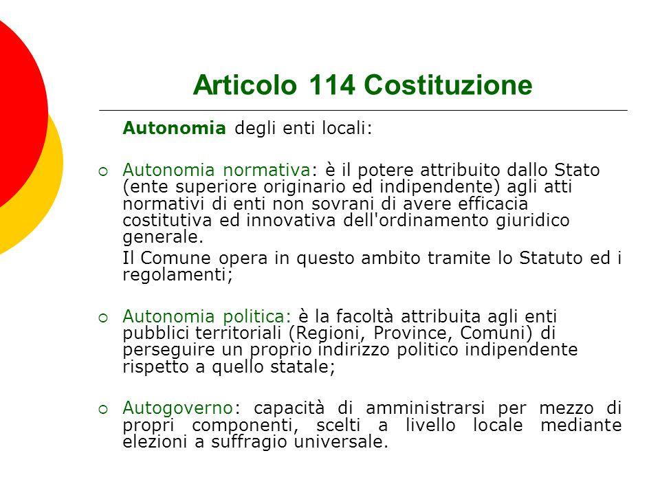 Articolo 114 Costituzione