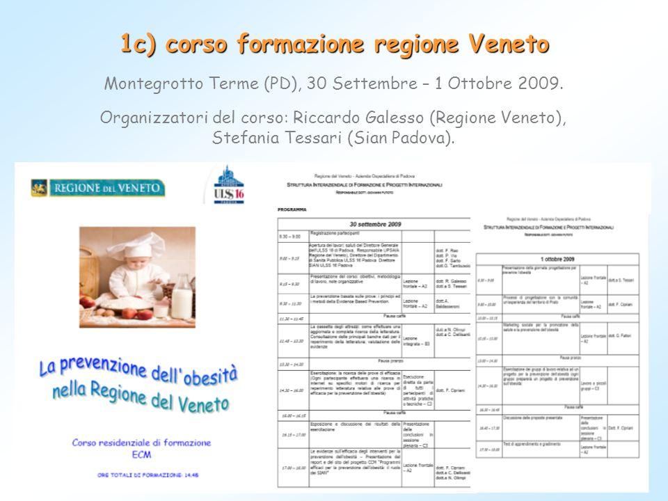 1c) corso formazione regione Veneto