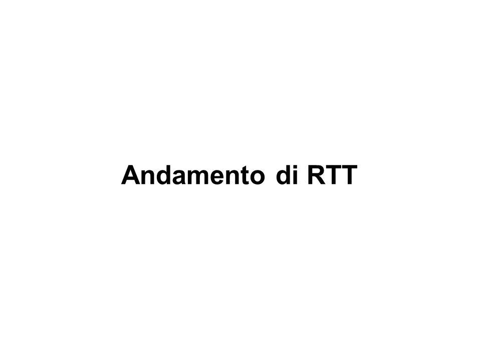 Andamento di RTT Modulo 2 - U.D. 5 - Lez. 7