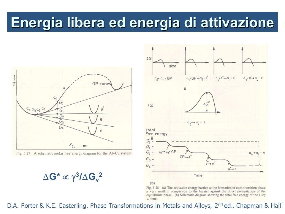 Energia libera ed energia di attivazione