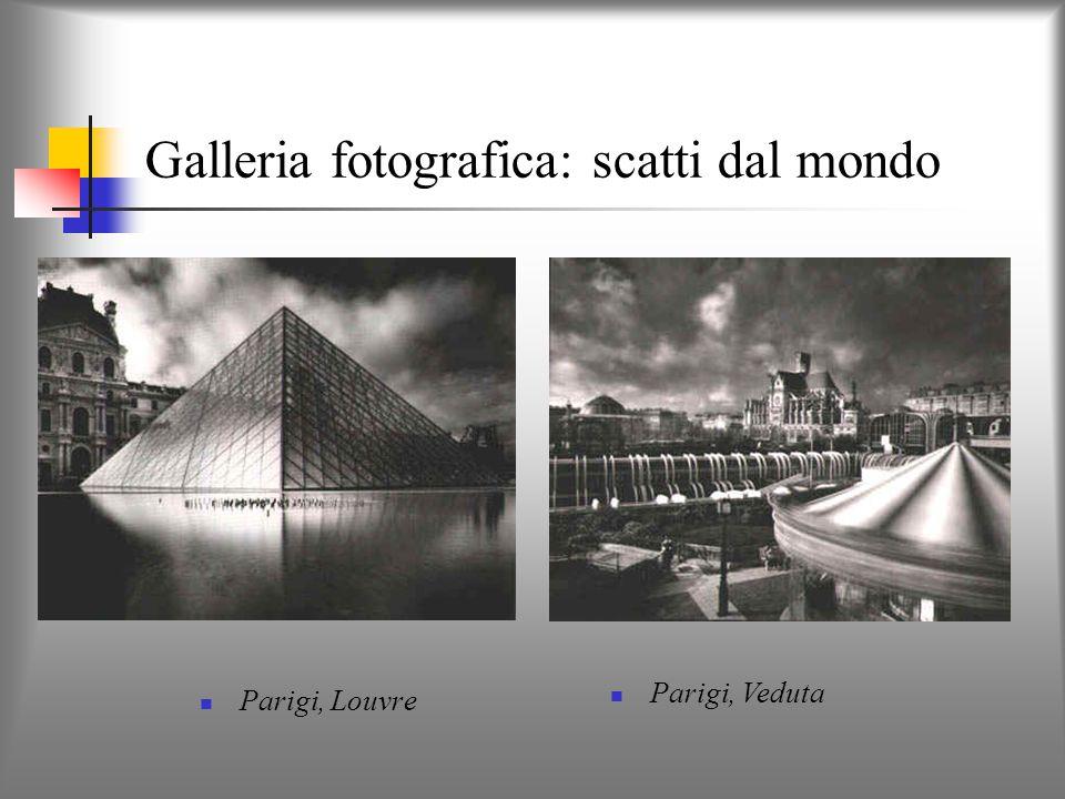 Galleria fotografica: scatti dal mondo