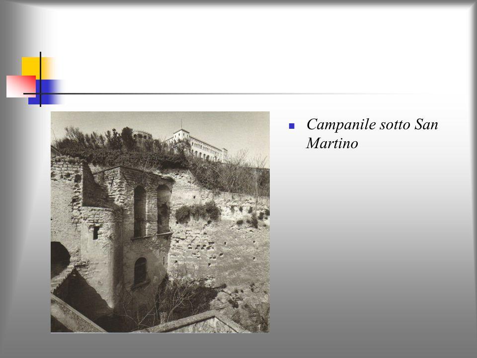 Campanile sotto San Martino
