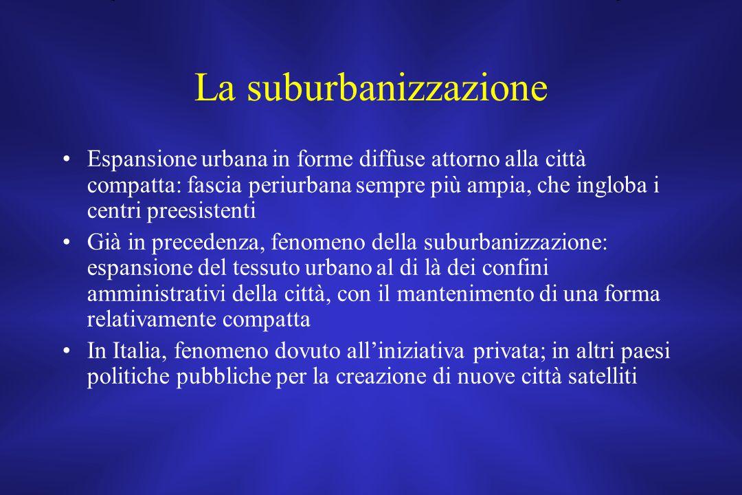 La suburbanizzazione