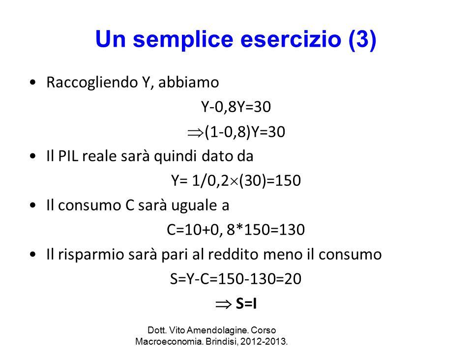 Un semplice esercizio (3)