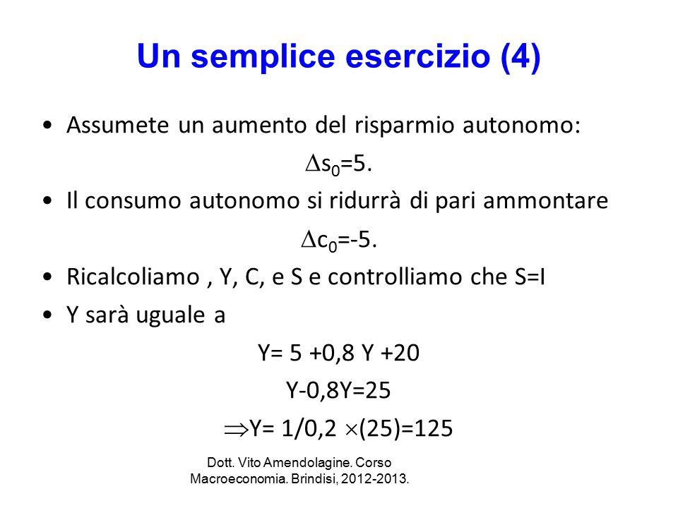 Un semplice esercizio (4)