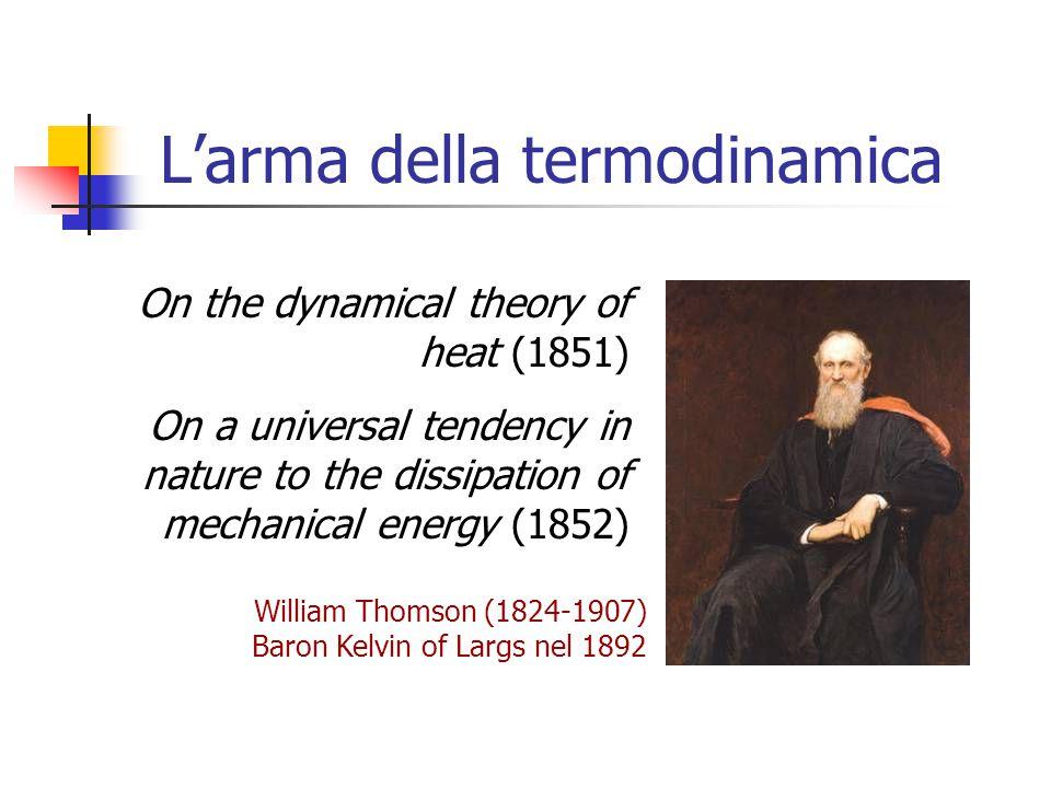 L'arma della termodinamica