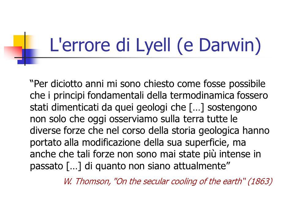 L errore di Lyell (e Darwin)