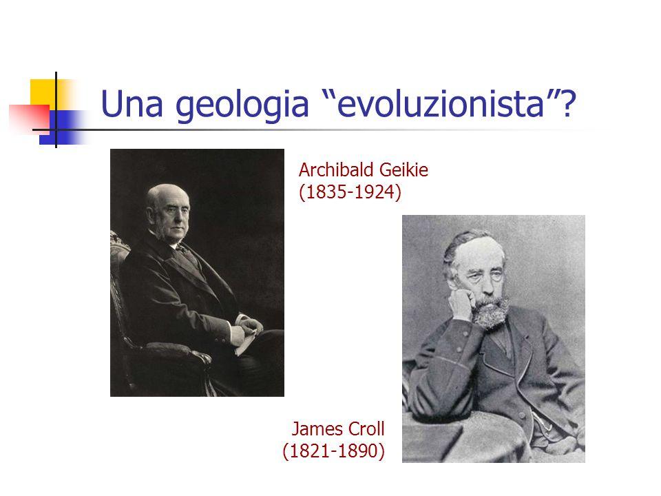 Una geologia evoluzionista