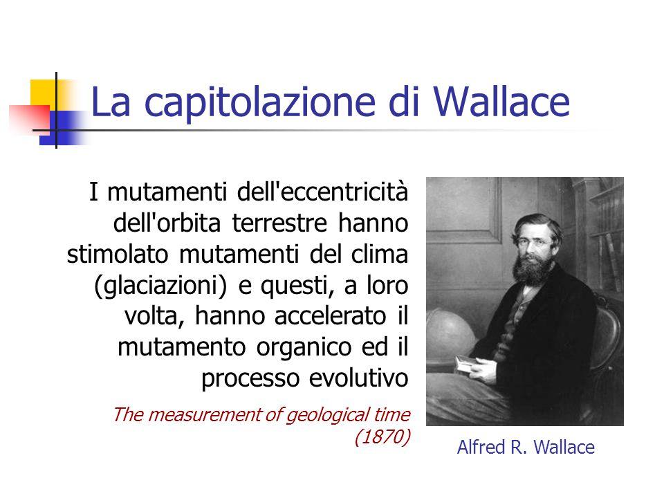 La capitolazione di Wallace