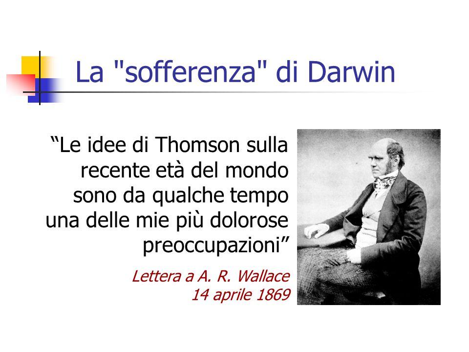 La sofferenza di Darwin