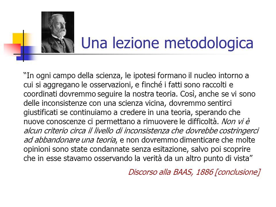 Una lezione metodologica
