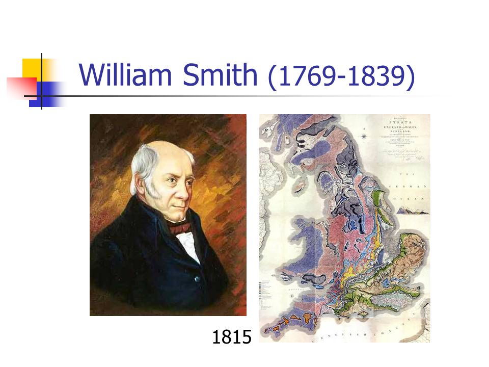 William Smith (1769-1839) 1815