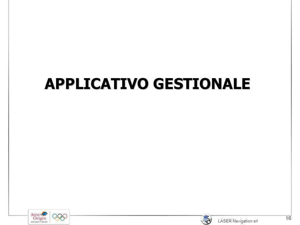 APPLICATIVO GESTIONALE