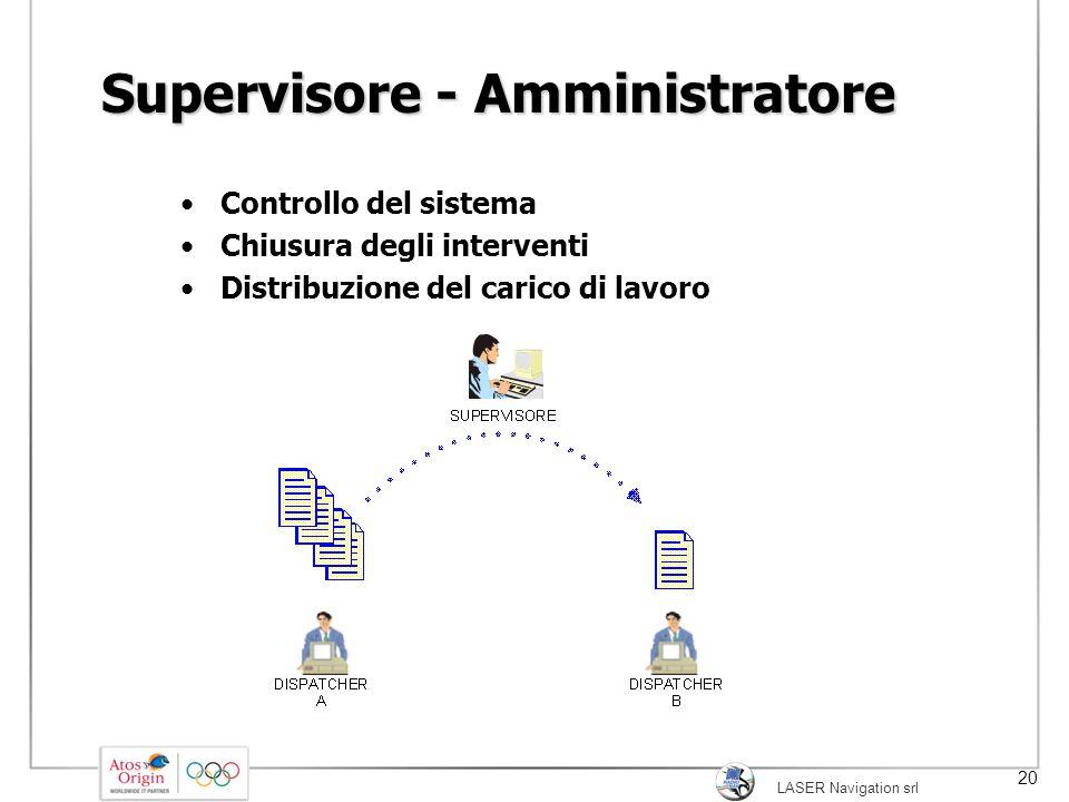 Supervisore - Amministratore