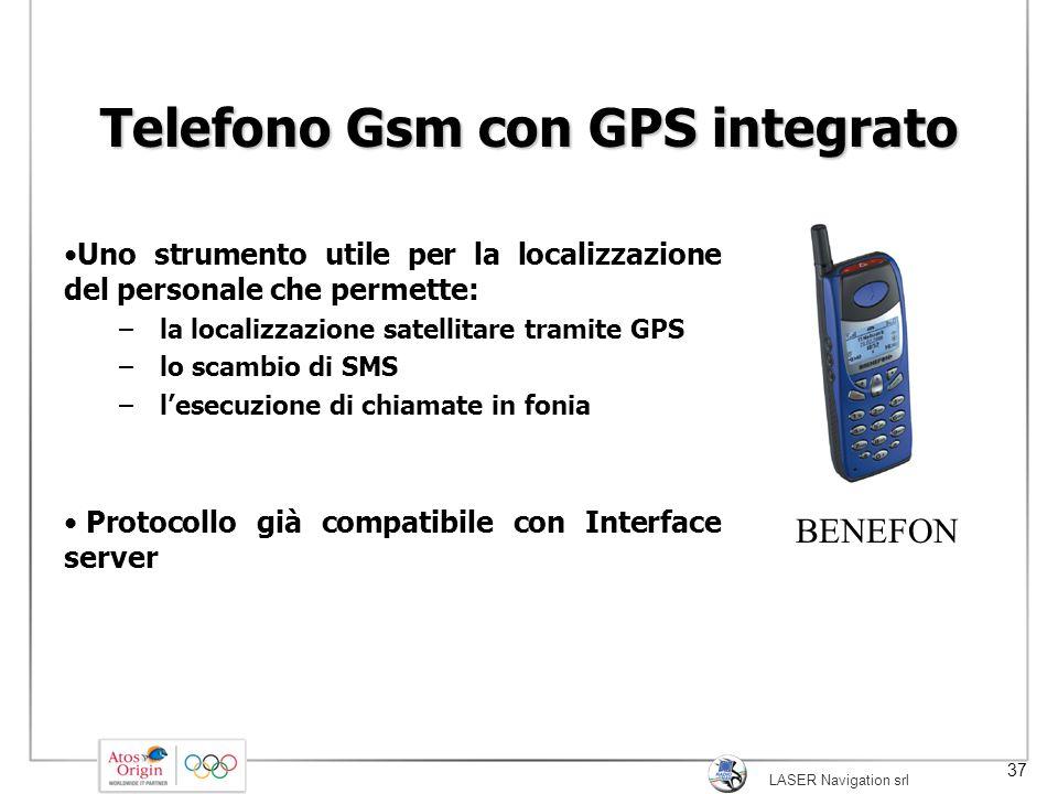 Telefono Gsm con GPS integrato