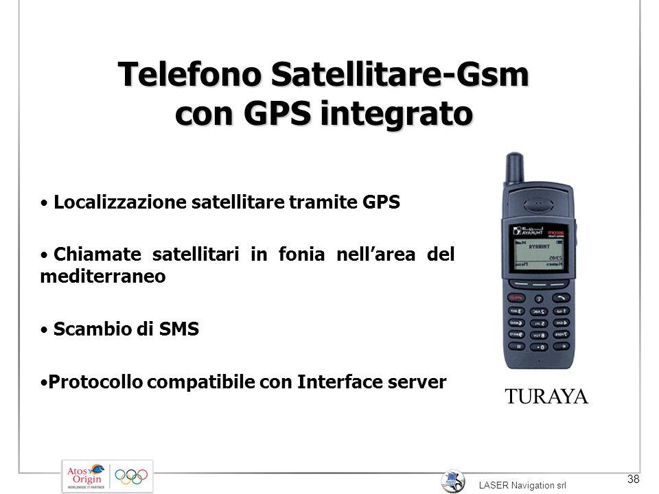 Telefono Satellitare-Gsm con GPS integrato