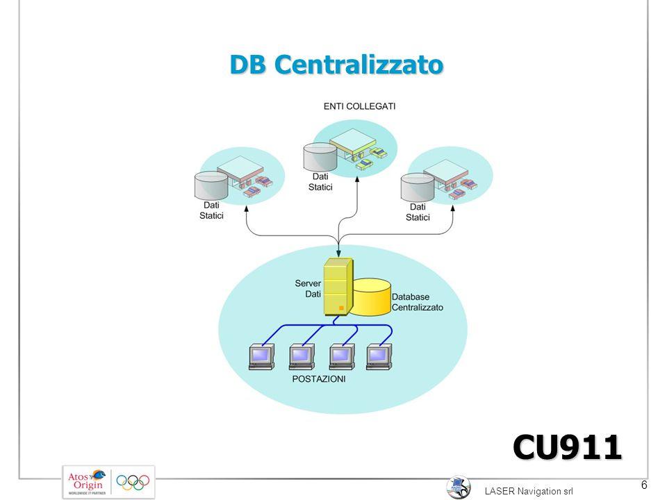 DB Centralizzato SI PASSA DA UNA SOLUZIONE A db DISTRIBUITI AD UNA A DB CENTRALE UNICO.