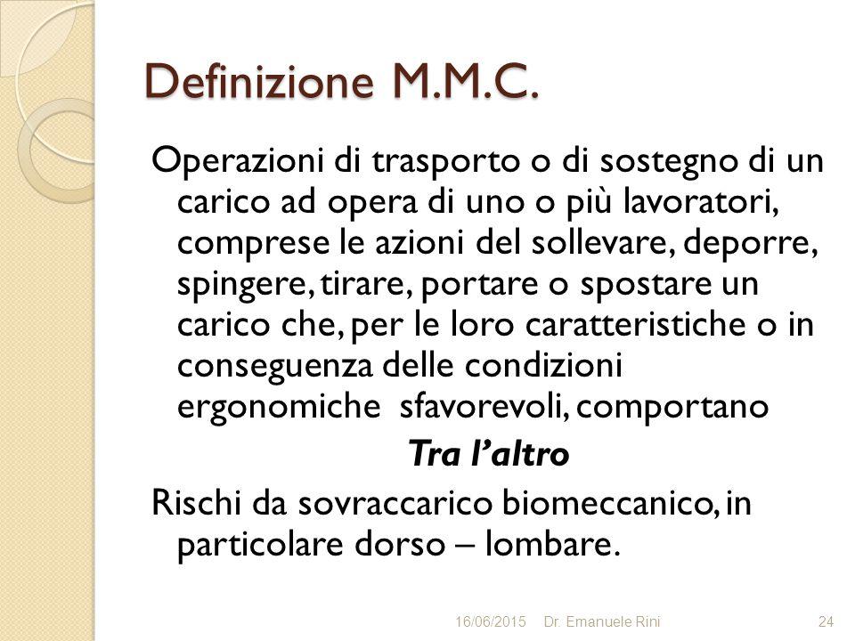 Definizione M.M.C.