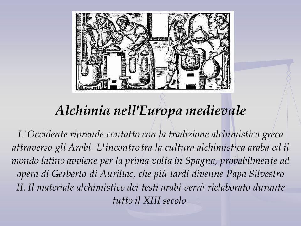 Alchimia nell Europa medievale