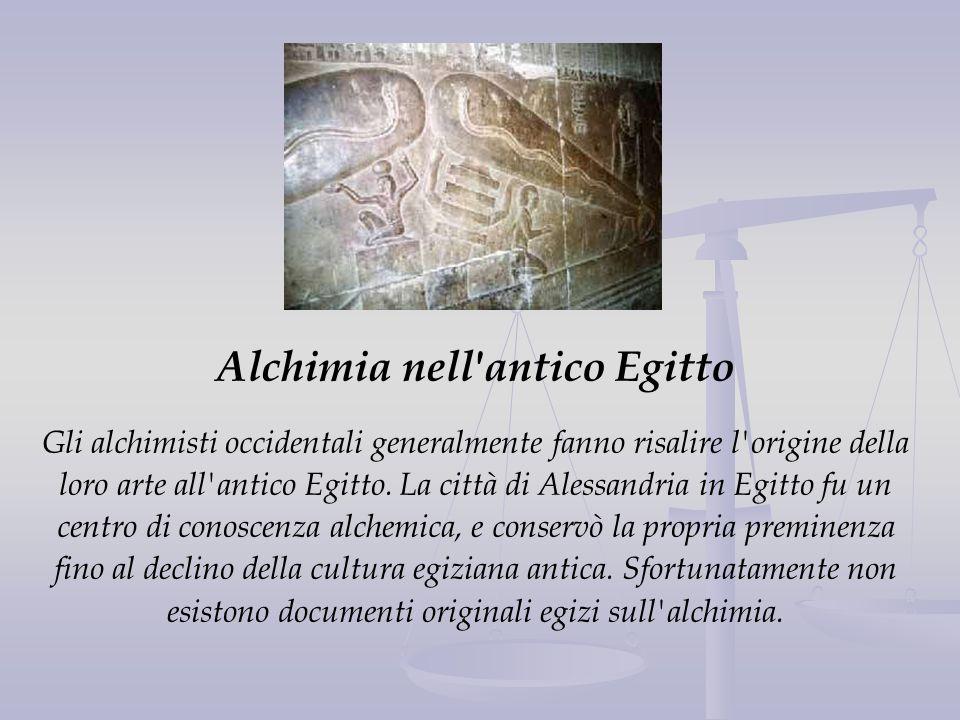 Alchimia nell antico Egitto
