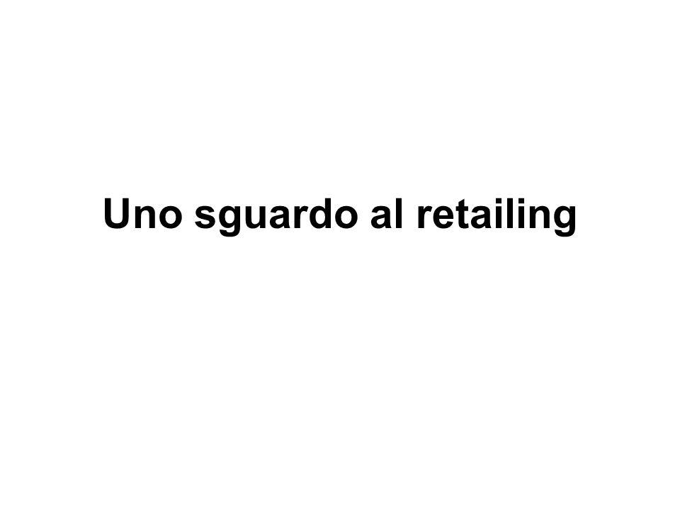 Uno sguardo al retailing