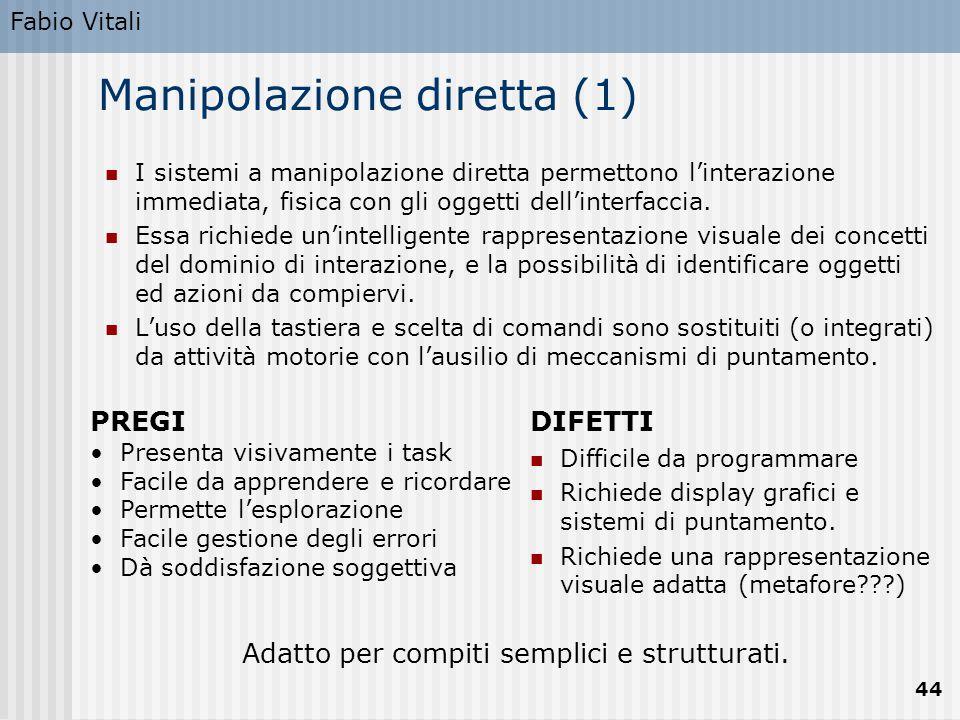 Manipolazione diretta (1)