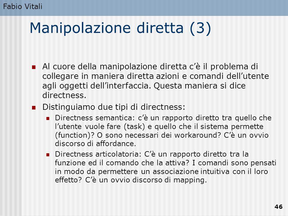 Manipolazione diretta (3)