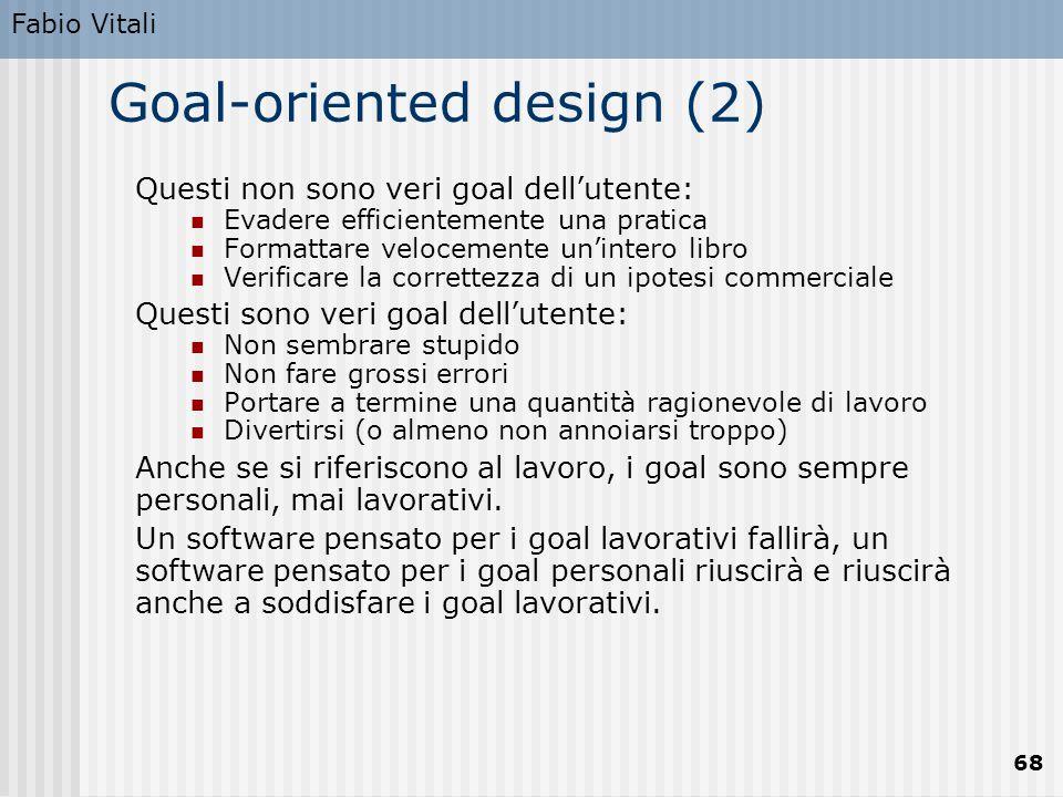 Goal-oriented design (2)