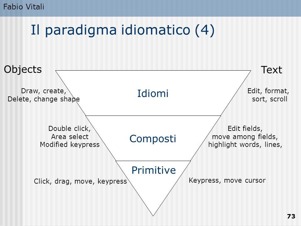 Il paradigma idiomatico (4)