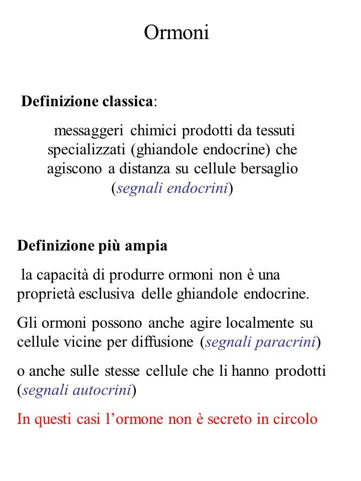 Ormoni Definizione classica: