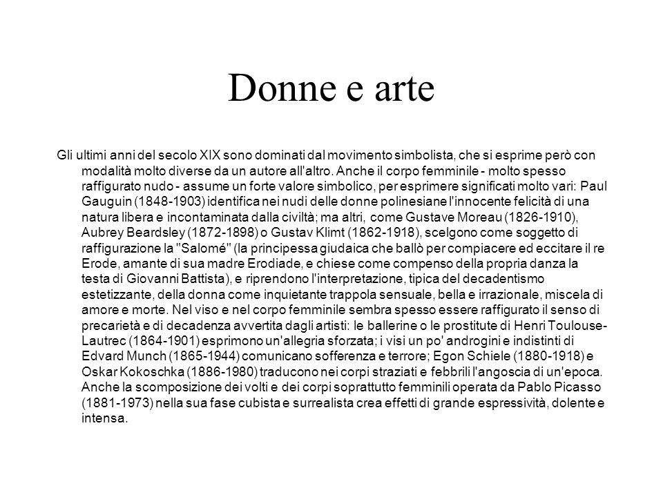 Donne e arte