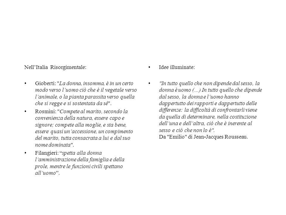 Nell'Italia Risorgimentale: