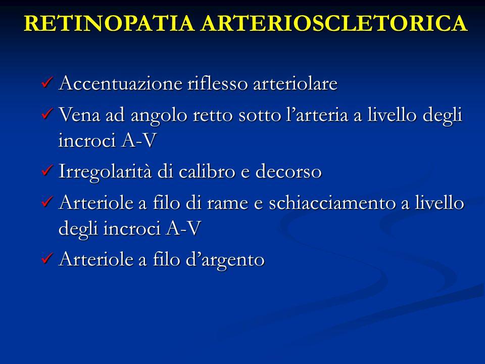 RETINOPATIA ARTERIOSCLETORICA