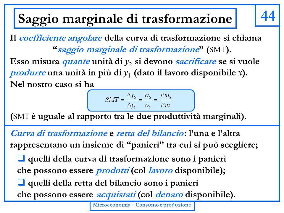 Saggio marginale di trasformazione