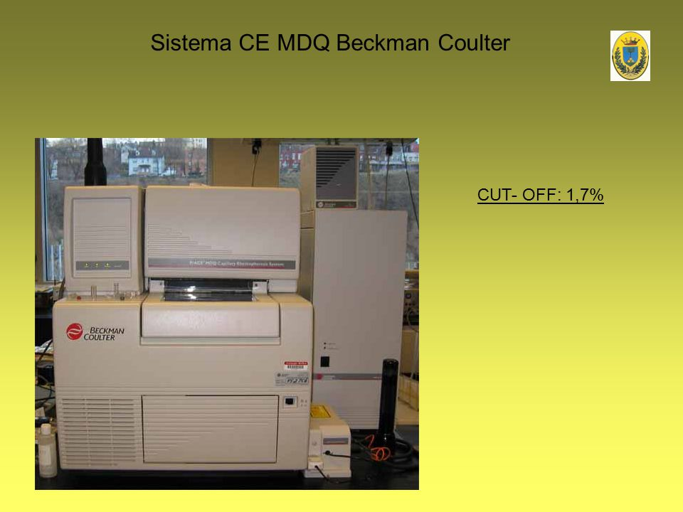 Sistema CE MDQ Beckman Coulter