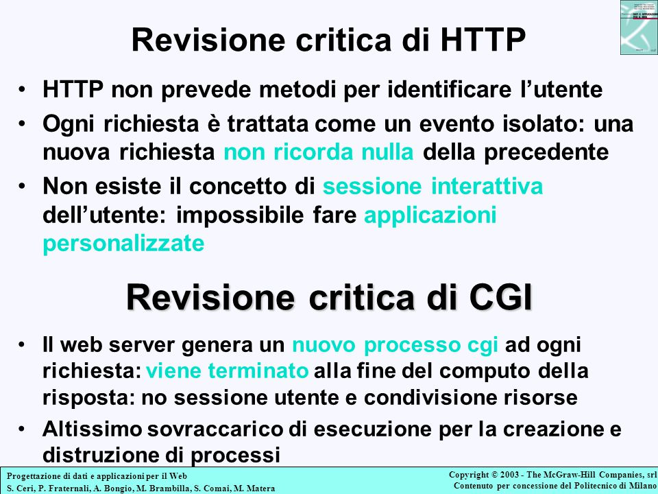 Revisione critica di HTTP