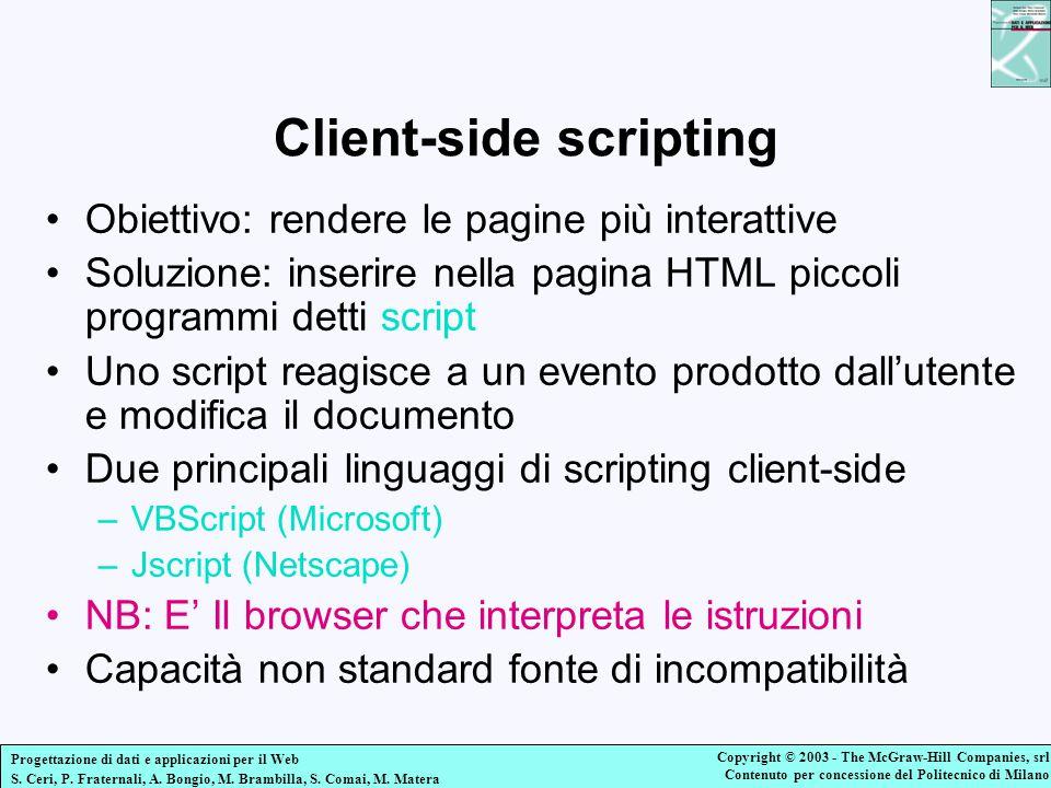 Client-side scripting