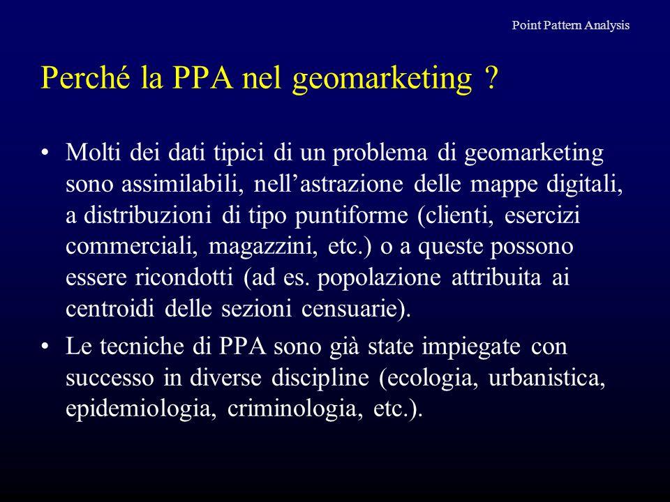 Perché la PPA nel geomarketing