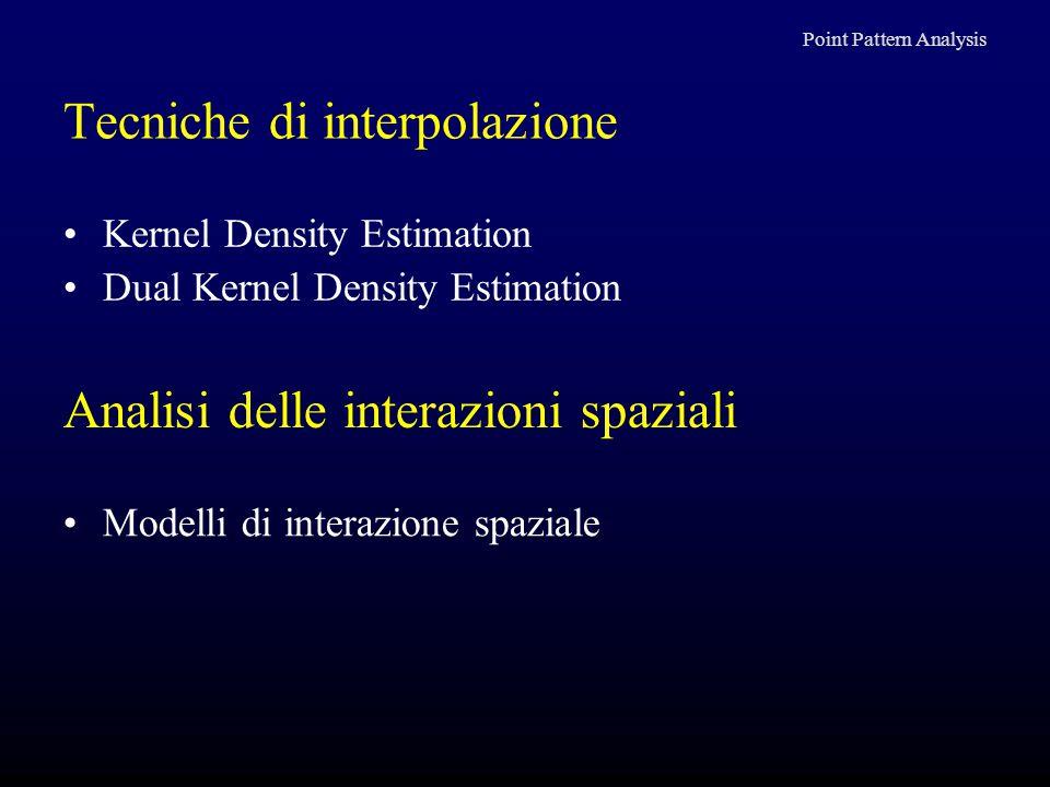 Tecniche di interpolazione