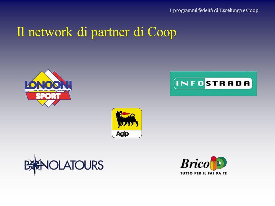Il network di partner di Coop