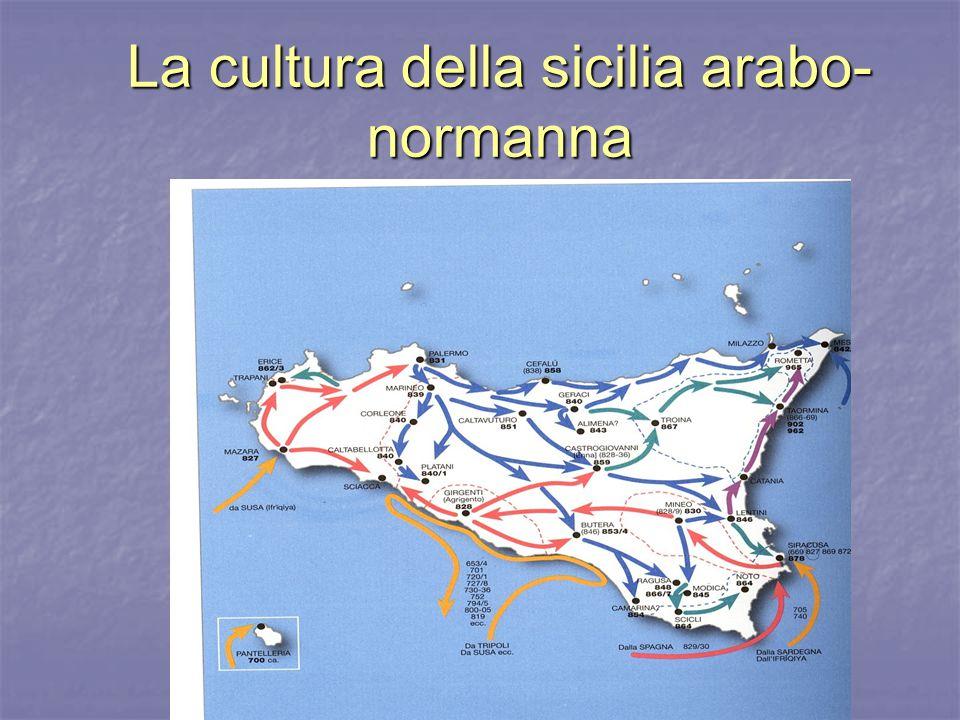 La cultura della sicilia arabo-normanna